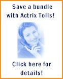 Save a bundle with Actrix Tolls!